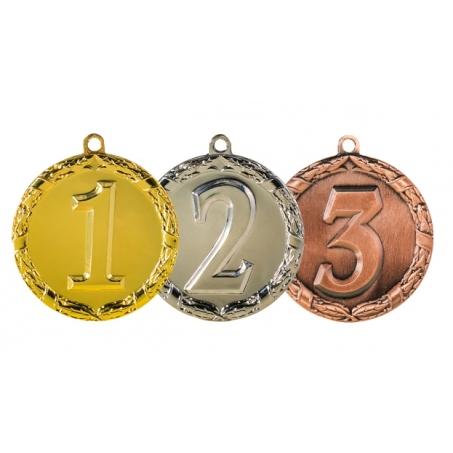 Медали за 1, 2, 3 место 45 мм.