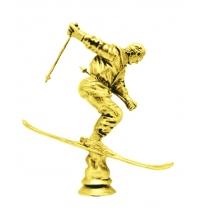 Статуэтка - фигурка Лыжник скоростной спуск