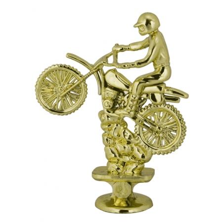 Статуэтка мотоциклист 110 мм.