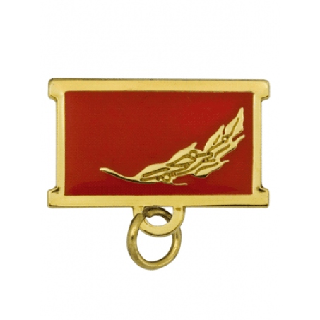 Колодка для медали красная