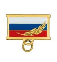 Колодка для медали триколор ветвь