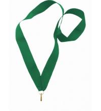 Лента для медали 22мм. Зеленая