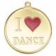 Медаль наградная *Я люблю танцы*