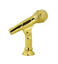 Статуэтка микрофон 80 мм