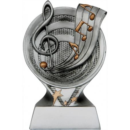 Статуэтка микрофон литой