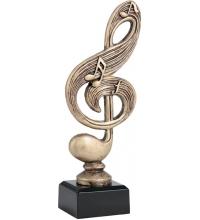 Фигурка литая скрипичный ключ