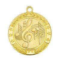 Медаль наградная *Музыка* - 50мм. MK186