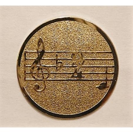 Вкладыш *Музыка ноты* 25 мм.