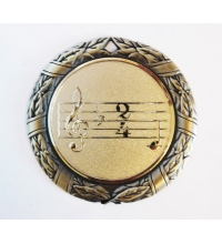 Медаль наградная *Музыка* - 70мм. MK41