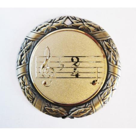 Медаль наградная *Музыка* MK41