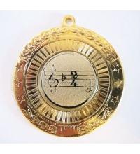 Медаль наградная *Музыка* - 50мм. MK179
