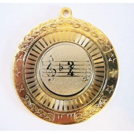 """Медаль наградная """"Музыка"""" MK179"""