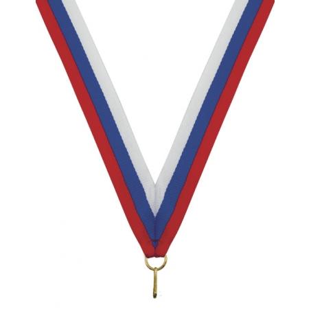 Лента для медали 22мм. Триколор