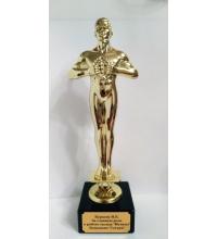 Пример гравировки Оскар лучшему работнику