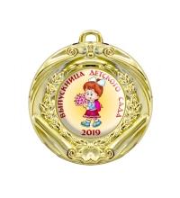 Медаль Выпускница детского сада *Девочка* - MK61