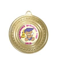 Медаль Выпускник детского сада *Медвежонок* - MK115